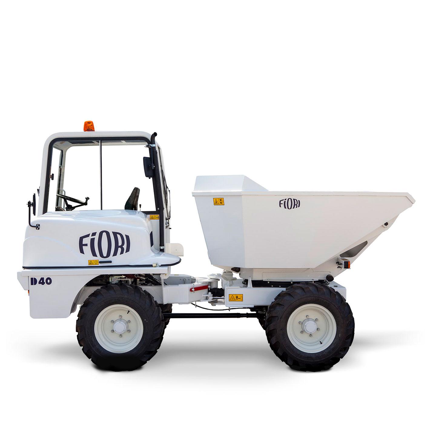 Dumper transporte de materiales 4 ton D40